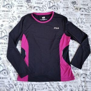 Fila Black Fitness Top